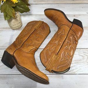 Frye Vintage Women's Cowboy Boots Sz 8B MSRP $295